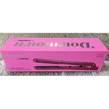 Eva NYC Healthy Heat Ceramic Styling Flat Iron in Pink Cheetah