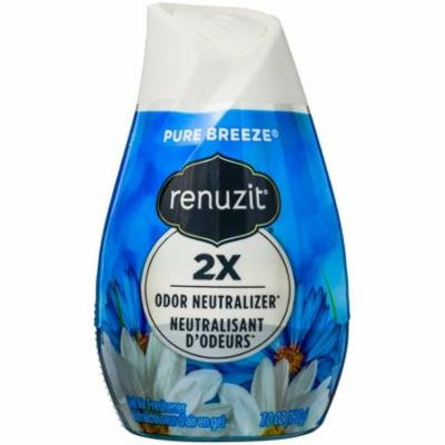 Renuzit Gel Air Freshener, Pure Breeze 7 oz (Pack of 6)