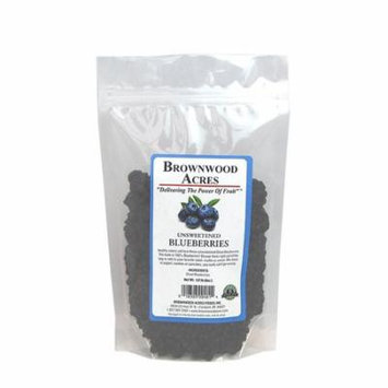 Unsweetened Dried Blueberries - 1/2 Pound Bag