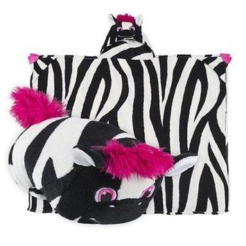 Comfy Critters CC00000X0023400000 Ziggy The Zebra Blanket