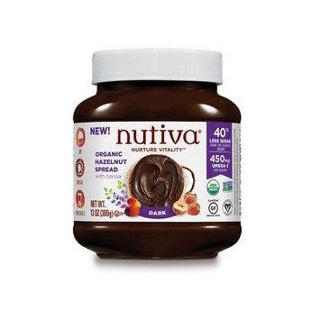 Nutiva Organic Hazelnut Spread with Cocoa - Dark - 6 PK