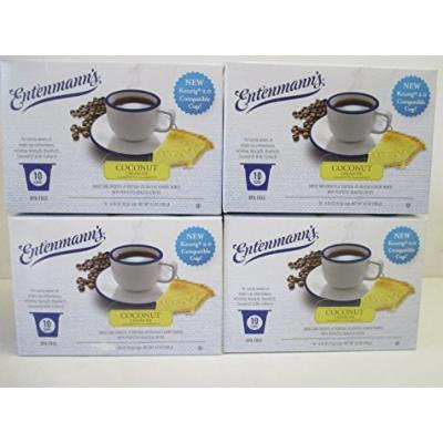 Entenmann's Coconut Cream Pie Coffee K-Cups 4 10 cup boxes
