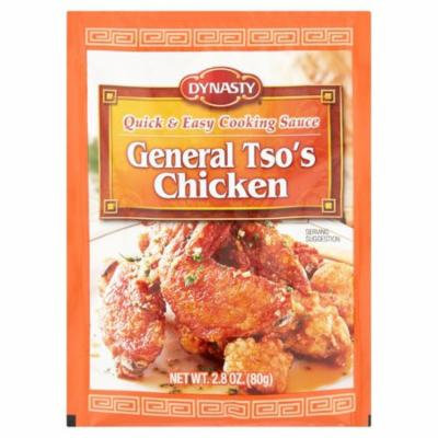 Dynasty General Tso's Quick & Easy Chicken Cooking Sauce, 2.8 oz