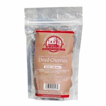 Premium Dark Chocolate Covered Dried Cherries - 1/2 Pound Bag