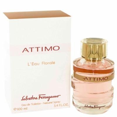 Attimo L'eau Florale by Salvatore Ferragamo Eau De Toilette Spray 3.4 oz for Women