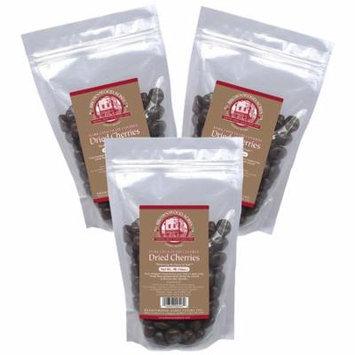 Premium Dark Chocolate Covered Dried Cherries - THREE 1 Pound Bags