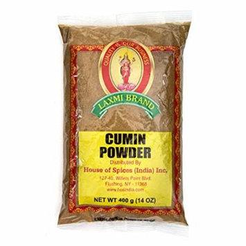 Laxmi All-Natural Dried Cumin Powder - 14 Ounce