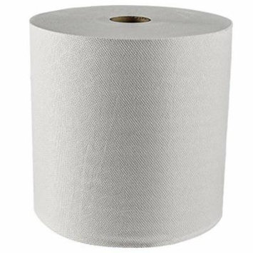 Kleenex Hard Roll Paper Towels (01080) with Premium Absorbency Pockets, White, 12 Rolls / Case, 5,100 feet