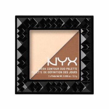 (6 Pack) NYX Cheek Contour Duo Palette 02 Double Date