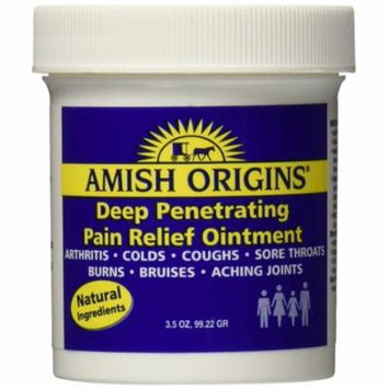 Amish Origins Penetrating Pain Relief Ointment 3.5oz Each