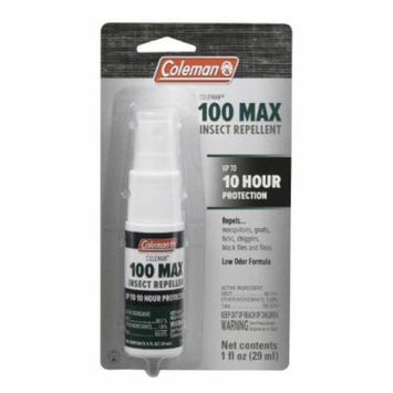 Coleman 100 Max DEET Insect Repellent Mosquito & Tick Spray Pump 4-Ounce