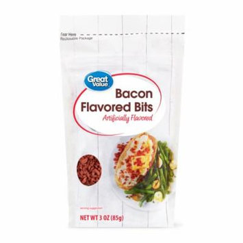 Great Value Bacon Flavored Bits, 3 oz