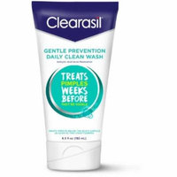 Clearasil Gentle Prevention Daily Clean Wash Oil Free Face Wash 6.5 Oz Each