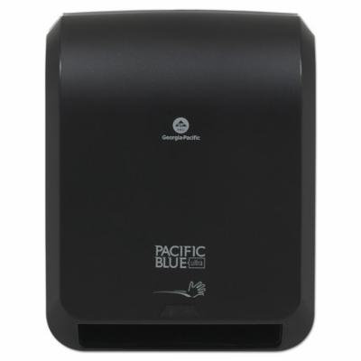 Georgia-Pacific Pacific Blue Ultra Automated Paper Towel Dispenser, 59590, 12.9 x 9 x 16.8, Black