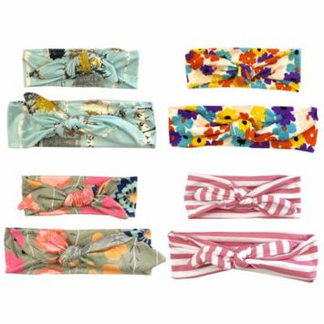 Wrapables® Mommy and Me Boho Headband Headwrap, Floral Fun