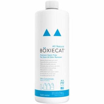 Boxiecat Premium Scent-Free Stain & Odor Remover, 32 Oz Ultra Concentrate