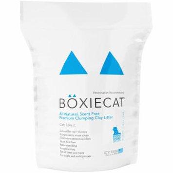 Boxiecat Scent-Free Premium Clumping Clay Cat Litter, 16 Lb
