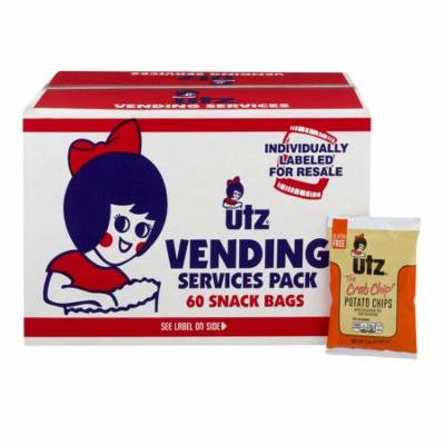 Utz Vending Services Chips Crab - 60 CT1.0 OZ