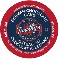 Timothy's German Chocolate Cake Coffee, K-Cup Portion Pack for Keurig Brewers (96 Count)