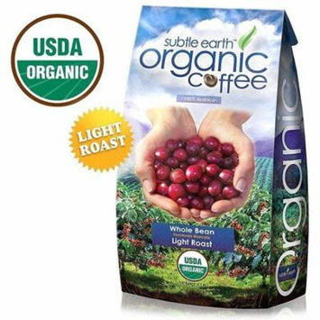 5LB Cafe Don Pablo Subtle Earth Organic Gourmet Coffee - Light Roast - Whole Bean Coffee - USDA Certified Organic - 100% Arabica, 5 Pound