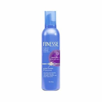 Finesse Shape + Strenghten Extra Control Mousse 7 oz Each