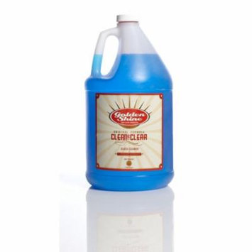 Golden Shine Car Care Clean and Clear Glass Cleaner 1-Gallon Refill 49128