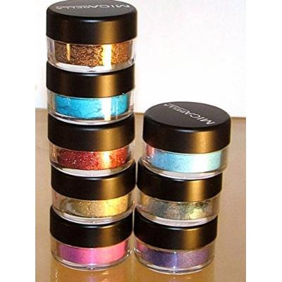 Bundle 9 Items: Mica Beauty Pick your Color 8 Eye Shimmers Eye Shadows + Itay Eye Primer