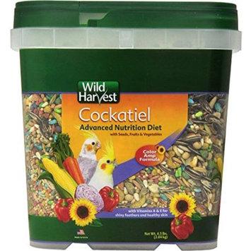 Spectrum Brands Wild Harvest Advanced Cockatiel 4.5 lb.