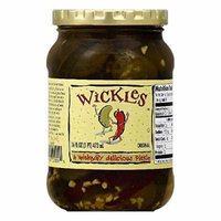 Wickles Original Pickle, 16 OZ (Pack of 6)