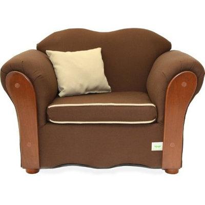 KEET Homey VIP Organic Kid's Chair, Brown/Beige