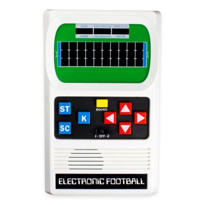 Basic Fun recaro north Classic Electronic Football Game 09506