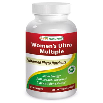 Best Naturals Women's ULTRA Multiple (Enhanced Phyto Nutrients) - 120 Tablets