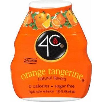 4C Liquid Water Enhancer, Orange Tangerine (Pack of 4)