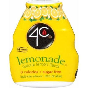 4C Liquid Water Enhancer, Lemonade (Pack of 4)