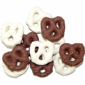 Guittards Chocolate | Milk Chocolate and White Pretzel Mix 3 Pound ( 48 OZ )