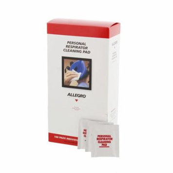 Allegro 1001 Respirator Cleaning Pads (100 Per Box)