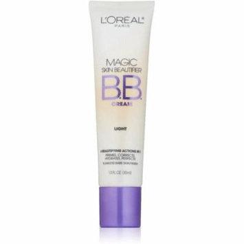 L'Oreal Paris Magic Skin Beautifier BB Cream, Light [812] 1 oz (Pack of 6)