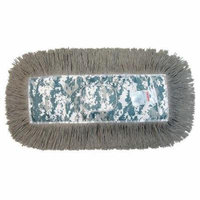 Tough Guy 19N835 Green Rayon, Cotton, Kevlar, Nylon Dust Mop