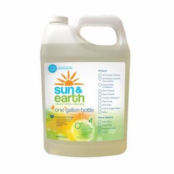 Sun & Earth Natural Floor Cleaner, Light Citrus, 128 Fl Oz