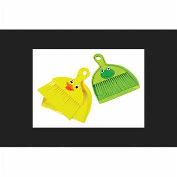 Diamond Visions Plastic Animal Broom & Dust Pan Set