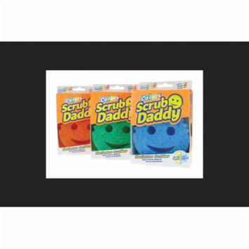 Scrub Daddy Colors Polymer Foam Scratch Free Sponge 4 in. W