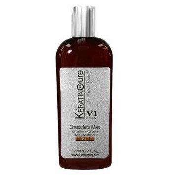 Keratin Cure Chocolate Complex V1 Strong Straightening Hair Treatment 120ml/4floz