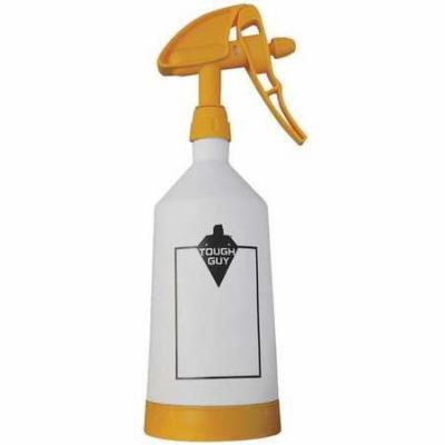 TOUGH GUY Dual Spray Bottle,0.5L,White/Yellow 35WT52