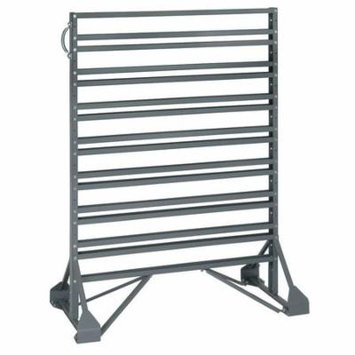 Floor Rack,Double Side,16 Rail,36x20x53 QUANTUM STORAGE SYSTEMS QRU-16D