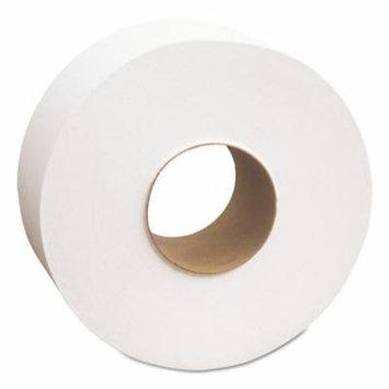 Cascades PRO Select Jumbo Toilet Paper, 1-Ply, White, 3 1/2
