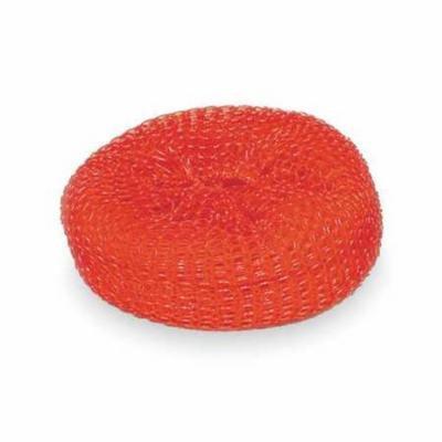 Tough Guy 2NTJ1 Red Plastic Mesh Scrubber