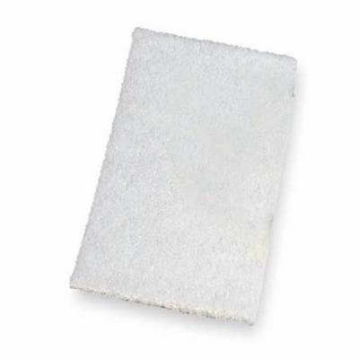Tough Guy 2NTG7 White Nylon Scouring Pad