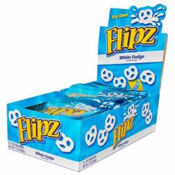 Flipz White Fudge Covered Pretzels 2 Oz Each ( 12 In A Pack )