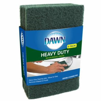 Dawn Heavy Duty Scouring Pads, 6 Ct