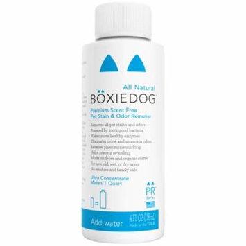 Boxiedog Premium Scent-Free Stain & Odor Remover, 4 Oz Ultra Concentrate